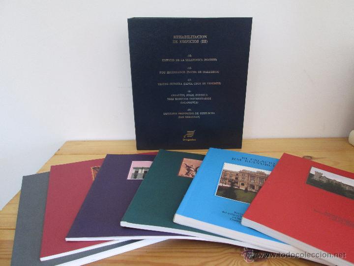 Libros de segunda mano: REHABILITACION DE EDIFICIOS. 19 CUADERNOS EN ENTUCHE. ED. DRAGADOS. VER FOTOGRAFIAS ADJUNTAS. - Foto 161 - 50276082