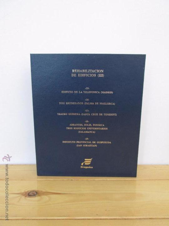 Libros de segunda mano: REHABILITACION DE EDIFICIOS. 19 CUADERNOS EN ENTUCHE. ED. DRAGADOS. VER FOTOGRAFIAS ADJUNTAS. - Foto 163 - 50276082