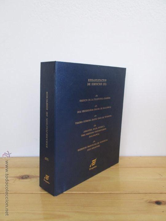 Libros de segunda mano: REHABILITACION DE EDIFICIOS. 19 CUADERNOS EN ENTUCHE. ED. DRAGADOS. VER FOTOGRAFIAS ADJUNTAS. - Foto 164 - 50276082