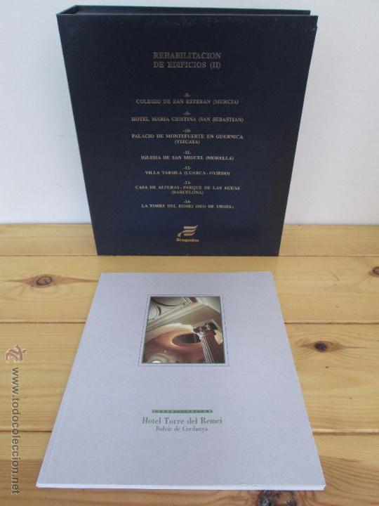 Libros de segunda mano: REHABILITACION DE EDIFICIOS. 19 CUADERNOS EN ENTUCHE. ED. DRAGADOS. VER FOTOGRAFIAS ADJUNTAS. - Foto 187 - 50276082