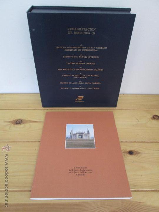 Libros de segunda mano: REHABILITACION DE EDIFICIOS. 19 CUADERNOS EN ENTUCHE. ED. DRAGADOS. VER FOTOGRAFIAS ADJUNTAS. - Foto 206 - 50276082