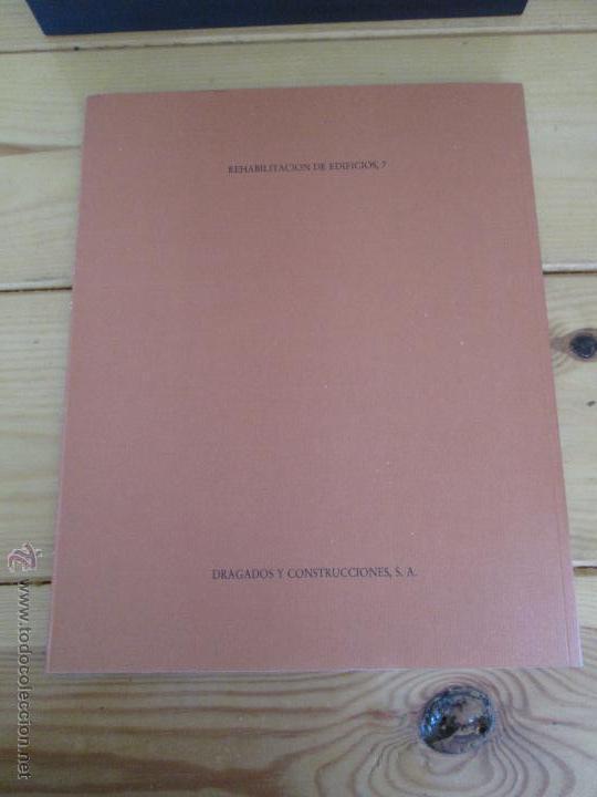 Libros de segunda mano: REHABILITACION DE EDIFICIOS. 19 CUADERNOS EN ENTUCHE. ED. DRAGADOS. VER FOTOGRAFIAS ADJUNTAS. - Foto 237 - 50276082