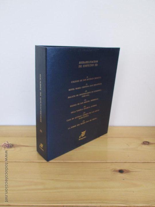 Libros de segunda mano: REHABILITACION DE EDIFICIOS. 19 CUADERNOS EN ENTUCHE. ED. DRAGADOS. VER FOTOGRAFIAS ADJUNTAS. - Foto 238 - 50276082