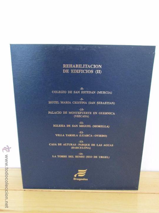 Libros de segunda mano: REHABILITACION DE EDIFICIOS. 19 CUADERNOS EN ENTUCHE. ED. DRAGADOS. VER FOTOGRAFIAS ADJUNTAS. - Foto 240 - 50276082