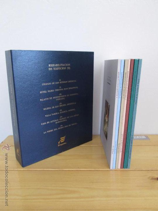 Libros de segunda mano: REHABILITACION DE EDIFICIOS. 19 CUADERNOS EN ENTUCHE. ED. DRAGADOS. VER FOTOGRAFIAS ADJUNTAS. - Foto 241 - 50276082