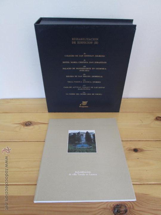 Libros de segunda mano: REHABILITACION DE EDIFICIOS. 19 CUADERNOS EN ENTUCHE. ED. DRAGADOS. VER FOTOGRAFIAS ADJUNTAS. - Foto 242 - 50276082