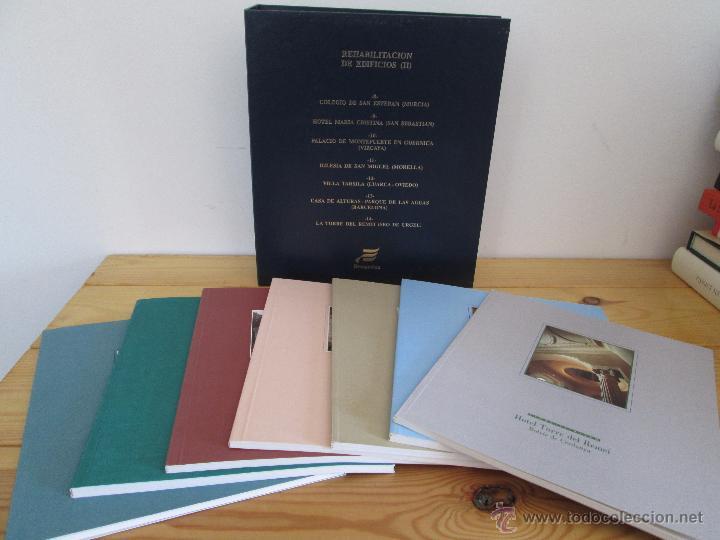 Libros de segunda mano: REHABILITACION DE EDIFICIOS. 19 CUADERNOS EN ENTUCHE. ED. DRAGADOS. VER FOTOGRAFIAS ADJUNTAS. - Foto 243 - 50276082