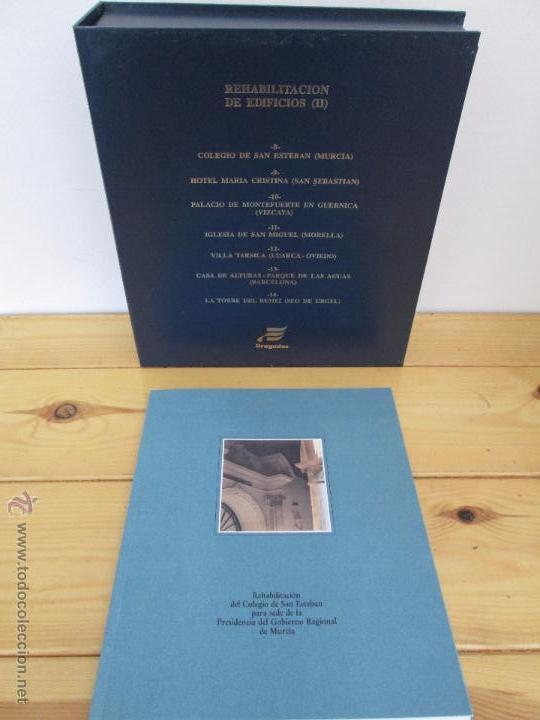 Libros de segunda mano: REHABILITACION DE EDIFICIOS. 19 CUADERNOS EN ENTUCHE. ED. DRAGADOS. VER FOTOGRAFIAS ADJUNTAS. - Foto 244 - 50276082