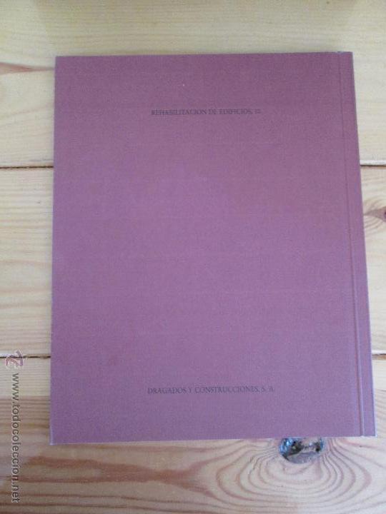 Libros de segunda mano: REHABILITACION DE EDIFICIOS. 19 CUADERNOS EN ENTUCHE. ED. DRAGADOS. VER FOTOGRAFIAS ADJUNTAS. - Foto 267 - 50276082