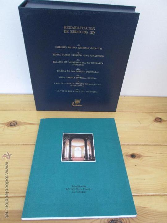 Libros de segunda mano: REHABILITACION DE EDIFICIOS. 19 CUADERNOS EN ENTUCHE. ED. DRAGADOS. VER FOTOGRAFIAS ADJUNTAS. - Foto 271 - 50276082