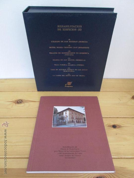 Libros de segunda mano: REHABILITACION DE EDIFICIOS. 19 CUADERNOS EN ENTUCHE. ED. DRAGADOS. VER FOTOGRAFIAS ADJUNTAS. - Foto 285 - 50276082