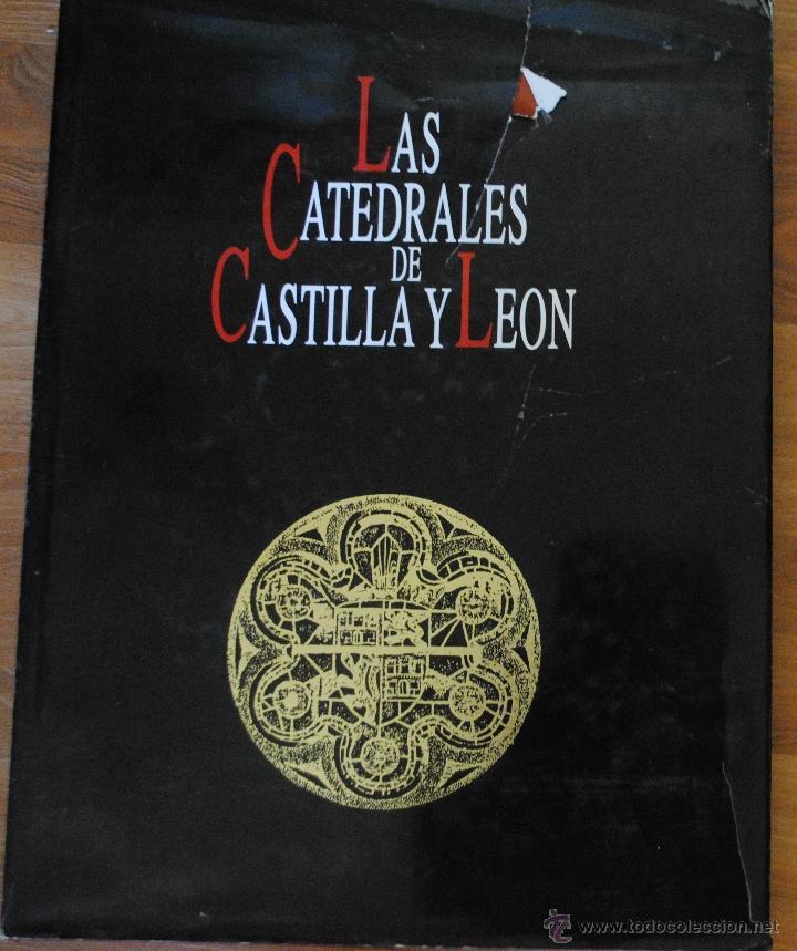 LAS CATEDRALES DE CASTILLA Y LEÓN, EDILESA LEÓN 1992, JUNTA DE CASTILLA Y LEÓN, GRAN TAMAÑO (Libros de Segunda Mano - Bellas artes, ocio y coleccionismo - Arquitectura)