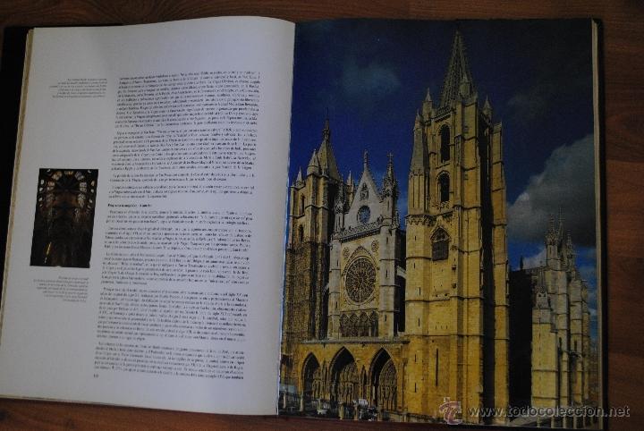 Libros de segunda mano: LAS CATEDRALES DE CASTILLA Y LEÓN, EDILESA LEÓN 1992, JUNTA DE CASTILLA Y LEÓN, GRAN TAMAÑO - Foto 5 - 50335794
