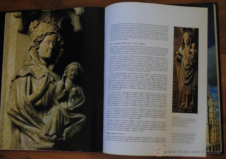 Libros de segunda mano: LAS CATEDRALES DE CASTILLA Y LEÓN, EDILESA LEÓN 1992, JUNTA DE CASTILLA Y LEÓN, GRAN TAMAÑO - Foto 6 - 50335794