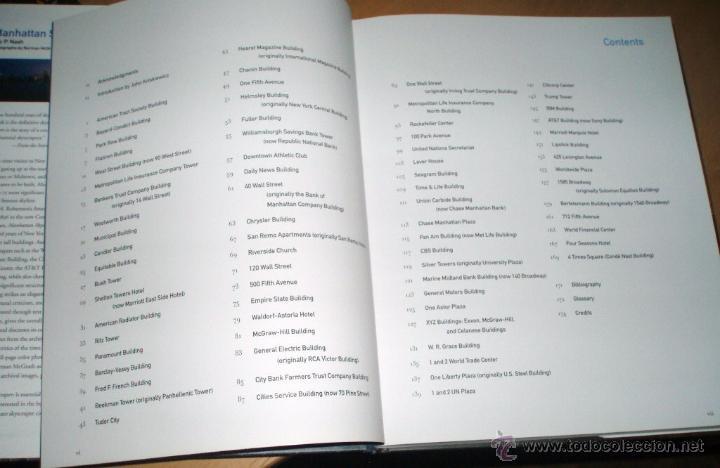 Libros de segunda mano: MANHATTAN -SKYSCRAPERS por Eric P.Nash - Foto 3 - 50720515