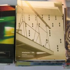Libros de segunda mano: LOTE 41 REVISTAS ARQUITECTOS DEL COLEGIO OFICIAL ARQUITECTOS ESPAÑA. VER DETALLES. Lote 50725374