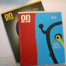 Libros de segunda mano: REVISTAS ON DISEÑO Nº 163 Y 171. Lote 50728543