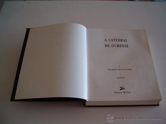 Libros de segunda mano: VV.AA. A Catedral de Ourense. I. Patrimonio Histórico Galego.1. Catedrais. RM70739. - Foto 2 - 50760561
