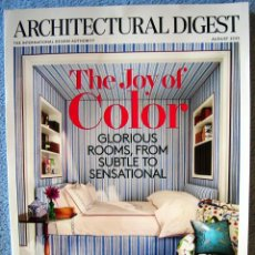 Libros de segunda mano: ARCHITECTURAL DIGEST . THE JOY OF COLOR - 112 PAGS, ARQUITECTURA EN INGLES. NEW YORK, AUGUST 2015.. Lote 211431026