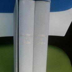 Libros de segunda mano: LA CATEDRAL DE LEÓN (2 TOMOS) - DEMETRIO DE LOS RÍOS Y SERRANO. Lote 50950947