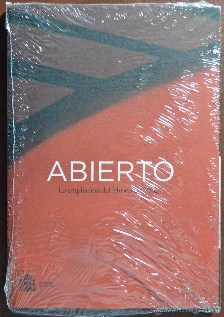 ABIERTO, LA AMPLIACIÓN DEL MUSEO DEL PRADO. MINISTERIO DE EDUCACIÓN. NUEVO RETRACTILADO. (Libros de Segunda Mano - Bellas artes, ocio y coleccionismo - Arquitectura)