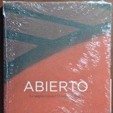 Libros de segunda mano: ABIERTO, LA AMPLIACIÓN DEL MUSEO DEL PRADO. MINISTERIO DE EDUCACIÓN. NUEVO RETRACTILADO.. Lote 51345988
