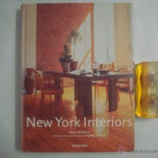 Libros de segunda mano: NEW YORK INTERIORS. TASCHEN 2002. FOLIO. OBRA MUY ILUSTRADA. Lote 51376812