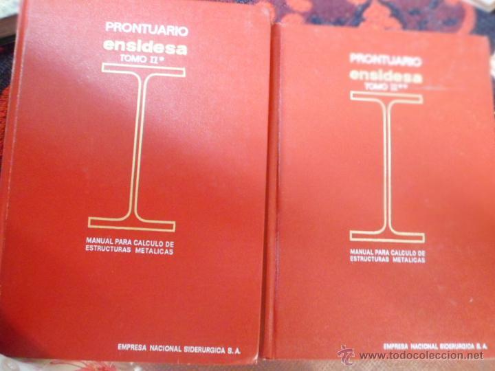 Prontuario ensidesa manual para c lculo de est vendido - Estructuras invernaderos segunda mano ...