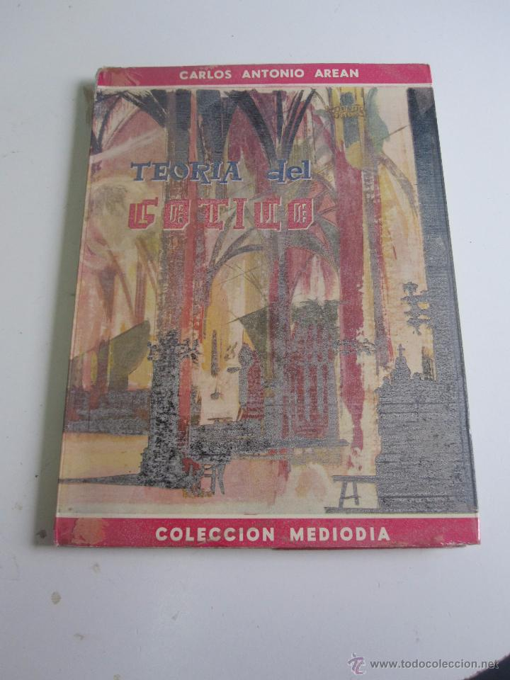 TEORIA DEL GOTICO. CARLOS ANTONIO AREAN . PUBLICACIONES ESPAÑOLAS 1961 BUEN ESTADO, FORRADO XG19 (Libros de Segunda Mano - Bellas artes, ocio y coleccionismo - Arquitectura)