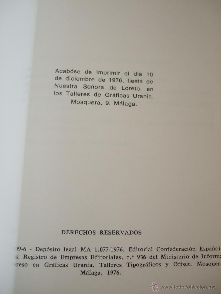 Libros de segunda mano: LA RESTAURACION DEL ANTIGUO REAL CONSERVATORIO DE MUSICA MARIA CRISTINA DE MALAGA - ENRIQUE ATENCIA - Foto 3 - 51503931