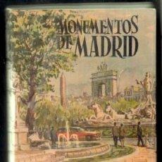 Libros de segunda mano: MONUMENTOS DE MADRID. BAZTAN, FRANCISCO. A-LMAD-261. Lote 51577829