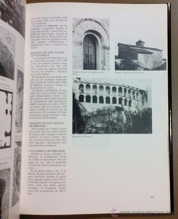 Libros de segunda mano: LAlt Camp. Inventari patrimoni arquitectònic de Catalunya. Generalitat. 1992. Fotografies, mapes... - Foto 2 - 51938245
