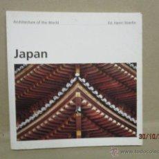 Libros de segunda mano: JAPAN - ARCHITECTURE OF THE WORLD - ED. HENRI STIERLIN (EN INGLES). Lote 101113796