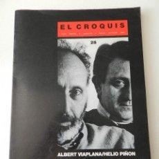 Libros de segunda mano: EL CROQUIS Nº 28 - ALBERT VILAPLANA / HELIO PIÑON - MADRID 1987 REVISTA ARQUITECTURA,. Lote 55100593