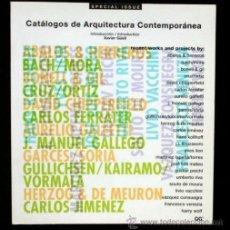 Libros de segunda mano: CATALOGOS DE ARQUITECTURA CONTEMPORANEA - SPECIAL ISSUE GUSTAVO GILI. Lote 52652522