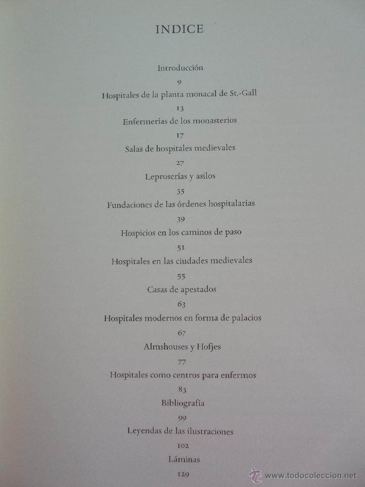 Libros de segunda mano: DANKWART LEISTIKOW. EDIFICIOS HOSPITALARIOS EN EUROPA DURANTE DIEZ SIGLOS. 1967. VER FOTOGRAFIAS. - Foto 11 - 52709295