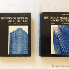 Libros de segunda mano: HISTORY OF MODERN ARCHITECTURE. Lote 53058031