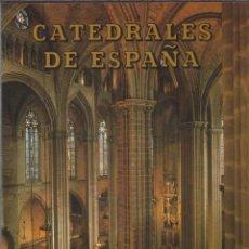 Libros de segunda mano: CATEDRALES DE ESPAÑA. VARIOS. BARCELONA.- SEGOVIA.- JAÉN.- MÁLAGA.- MURCIA.- EL PILAR DE ZARAGOZA.- . Lote 54360575