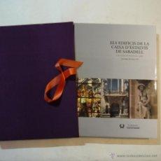 Libros de segunda mano: ELS EDIFICIS DE LA CAIXA D'ESTALVIS DE SABADELL - SANTIAGO ALCOLEA I GIL - CAIXA DE SABADELL - 2002. Lote 54379562