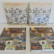 Libros de segunda mano: ARQUITECTURA Y DESARROLLO URBANO COMUNIDAD DE MADRID. TOMOS I,II,III Y IV. VER FOTOGRAFIAS ADJUNTAS.. Lote 54575063