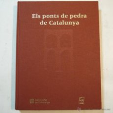 Libros de segunda mano: COL.LECCIÓ SOM I SEREM N.º 12. ELS PONTS DE PEDRA CATALUNYA - MANUEL MARISTANY - 2000. Lote 54621601