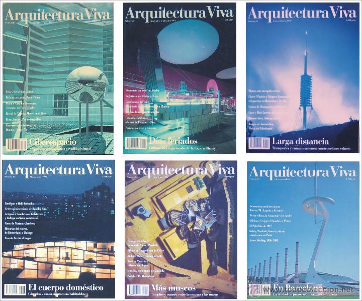 arquitectura viva nmeros 202122232425 - Arquitecturaviva