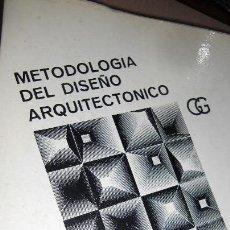 Libros de segunda mano: METODOLOGÍA DEL DISEÑO ARQUITECTÓNICO.BRADBEAUT, Y OTROS. Lote 54693385