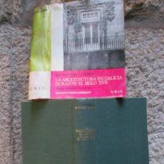 Libros de segunda mano: LA ARQUITECTURA EN GALICIA DURANTE EL SIGLO XVII - BONET CORREA, ANTONIO - C.S.I.C. 1966 + INFO. Lote 54714441