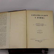 Libros de segunda mano: 5666- CONSTRUCCION Y FORMA EN ARQUITECTURA. FRIEDERICH HESS. EDIT. GILI. 1954.. Lote 48294307