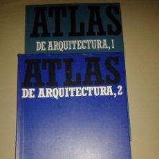 Libros de segunda mano: ATLAS DE ARQUITECTURA. WERNER MÜLLER Y GUNTHER VOGEL. Lote 54941798