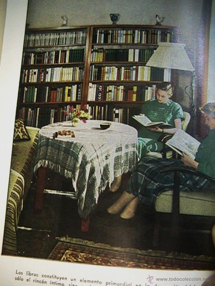 Libros de segunda mano: libro antiguo decoración arquitectura diseño - Foto 6 - 54995781