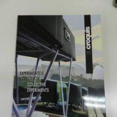 Libros de segunda mano: EL CROQUIS 149: EXPERIMENTOS COLECTIVOS: ARQUITECTOS ESPAÑOLES (II) - MADRID 2010 ARQUITECTURA,. Lote 297099158