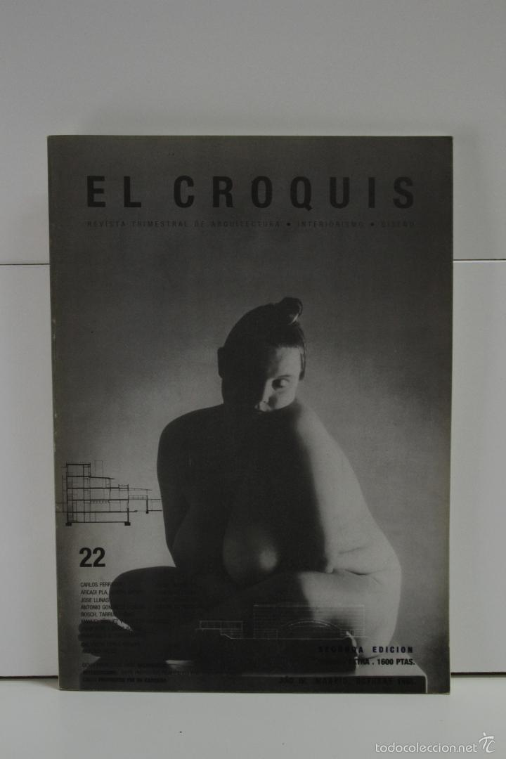 REVISTA EL CROQUIS N. 22 ARQUITECTURA (Libros de Segunda Mano - Bellas artes, ocio y coleccionismo - Arquitectura)