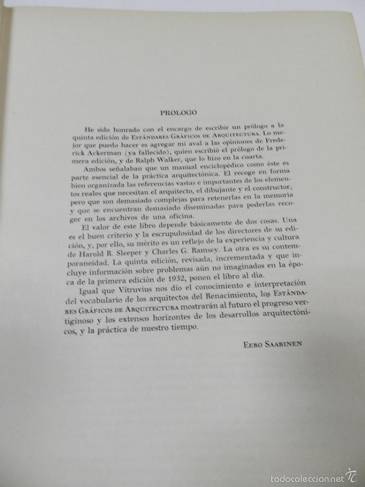 Libros de segunda mano: ESTÁNDARES GRÁFICOS ARQUITECTURA. RAMSEY SLEEPER. – ARQUITECTURA - Foto 9 - 55615083